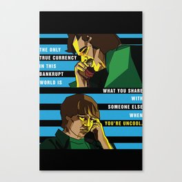 When You're Uncool: Almost Famous Canvas Print