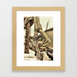 The Loop Framed Art Print