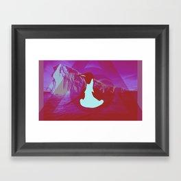 Pengu Framed Art Print