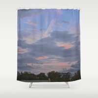 aperture Shower Curtains featuring A Misfit Day by Art That's Alive