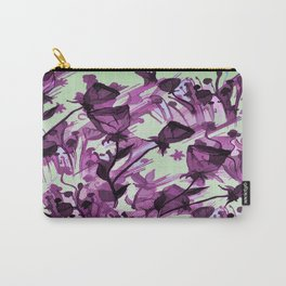 Painterly Graceful Flowing Flowers Carry-All Pouch