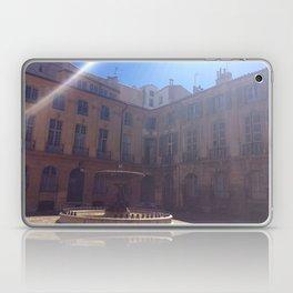 Fountain in Aix-en-Provence Laptop & iPad Skin