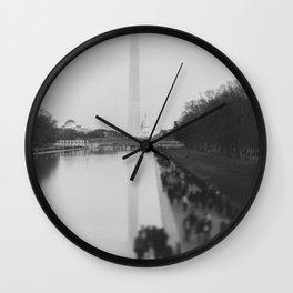 The National Mall II Wall Clock