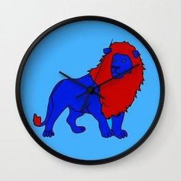 The Majesic Lion 2 Wall Clock