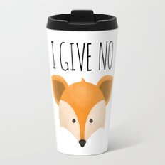 I Give No Fox Travel Mug