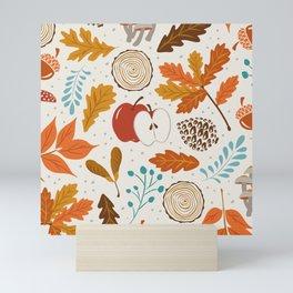 Autumn Woods Mini Art Print