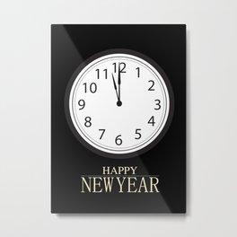 Happy New Year! (4) Metal Print