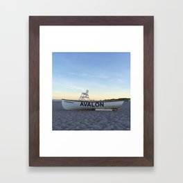 Avalon, NJ Framed Art Print