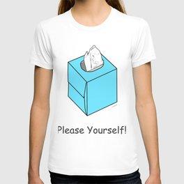 Tissue Box Baby Blue T-shirt