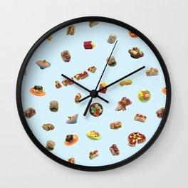 Felt Western Meal Wall Clock