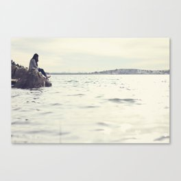 No Need to be Lonely. Canvas Print