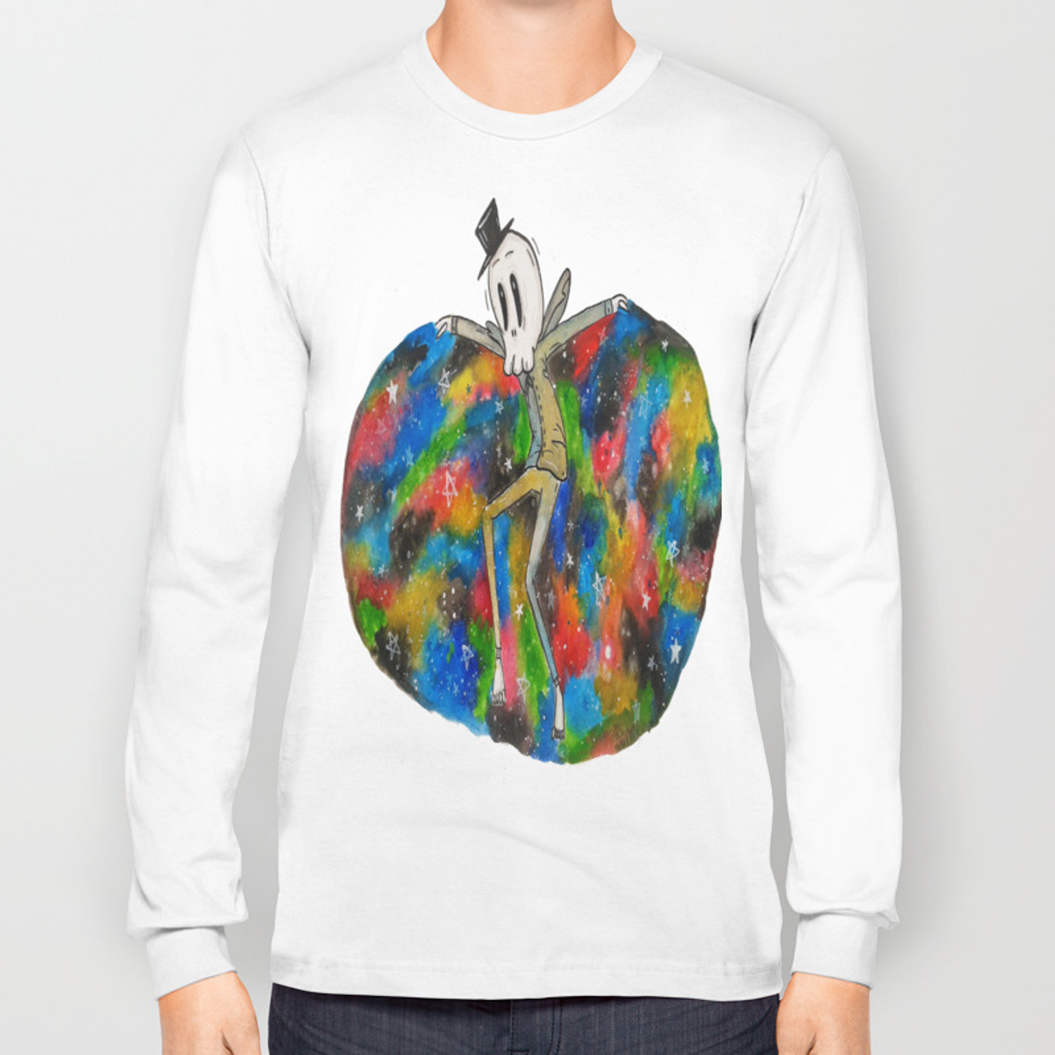 Mr Nightmare Long Sleeve T Shirt By Ayemaiden Society6 Worldwide patch terry hoodie $85.00 usd. society6