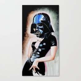 Darth Girl Canvas Print