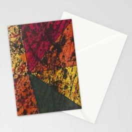 Corner Splatter # 11 Stationery Cards