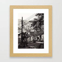 vende se pipa Framed Art Print