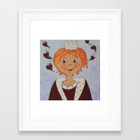 little prince Framed Art Prints featuring Little Prince by Petra Koob