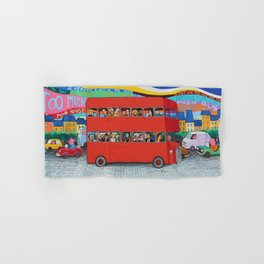 Magic Bus Hand & Bath Towel