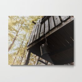 Treehouse Metal Print