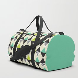 Geometric Pattern #48 (Mid-century) Duffle Bag