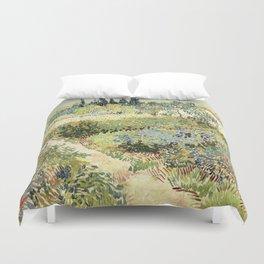 Vincent Van Gogh : Garden at Arles Duvet Cover