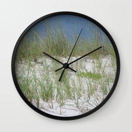 Sea Oats and Sand Dunes Wall Clock