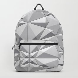 Triangle gray Backpack