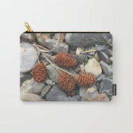 River Stone Tiny Cones Carry-All Pouch