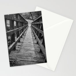 A path less travelled Stationery Cards