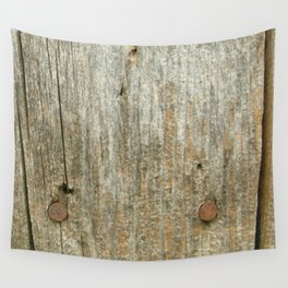 Vntage Lumber Detail Wall Tapestry