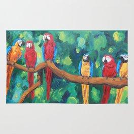 Parrots Rug