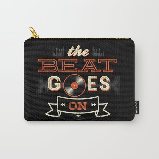 The Beat Goes On Carry-All Pouch