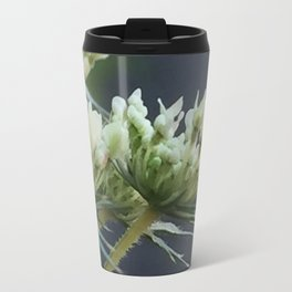 Emerging Queen Anne's Lace Travel Mug