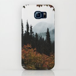 Fall Framed Trail iPhone Case