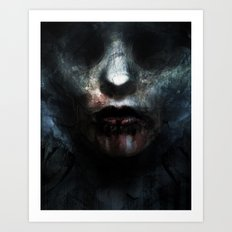 Nosferatu's Bride Art Print