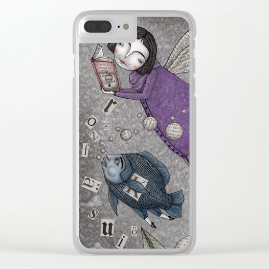 Stories in the Sky Clear iPhone Case