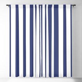 Sailor Blue Stripes 2 Blackout Curtain