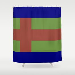 Jutland Flag Shower Curtain