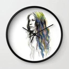 Head Over Feet Wall Clock