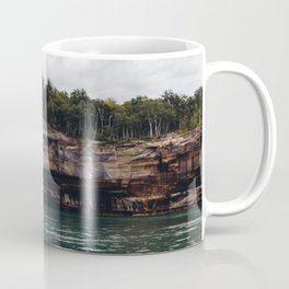 Pictured Rocks I Coffee Mug