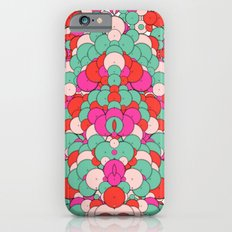Chaotic Circles Pattern Slim Case iPhone 6s