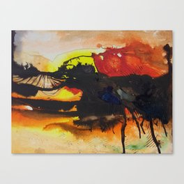 (falling) Tree Limbs Canvas Print