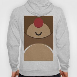 Bear xmas icon Hoody