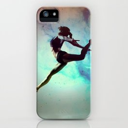Ballet Dancer Feat Lady Dreams Abstract Art iPhone Case