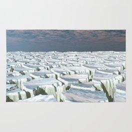 Fragmented Landscape Rug