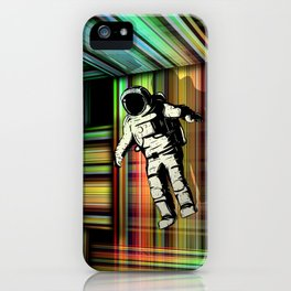 Trapped in Multiple Time Dimension iPhone Case