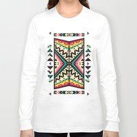tribal Long Sleeve T-shirts featuring Tribal by Ornaart