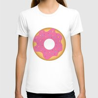 donut T-shirts featuring donut by Alix Création