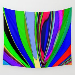 Re-Created  Archangel Wing 7 by Robert S. Lee Wall Tapestry