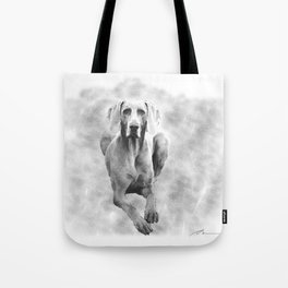 MR TEE THE WEIMARANER Tote Bag