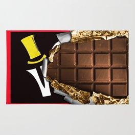 Wonka Chocolate Bar Rug